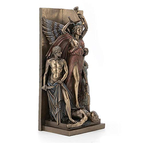 Standbeelden Ornamenten Griekse Mythologie Engel Full-Length Portret Hars Sculptuur Knutselen Decoratie Creatieve Europese Stijl Woonkamer Tv-Kast Kunstdecoraties