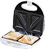 Sandwichera para 2 sandwiches, antiadherente, 750W, sellado perfecto.