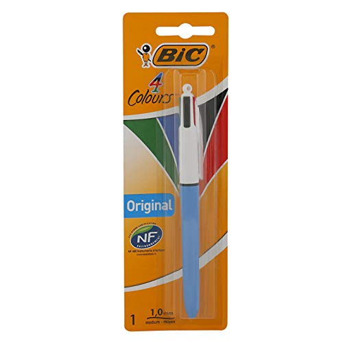 BIC 4-Farb-Druckkugelschreiber 4 Colours (0,32 mm) Blister à 1 Stück
