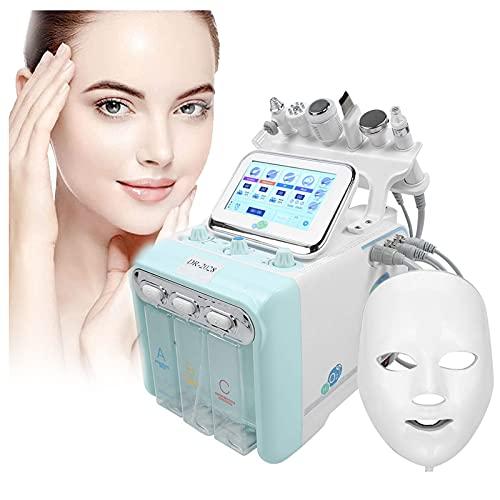 ZFAZF Máquina Burbujas Pequeñas, Máquina Belleza Cuidado Piel Facial Multifunción 7 en 1, para Rejuvenecimiento Piel Facial Estiramiento Piel Espinilla Eliminación