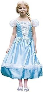 Magic Box Disfraz de Cenicienta Princesa o Novia Reversible para niña Large (9-11 Years)