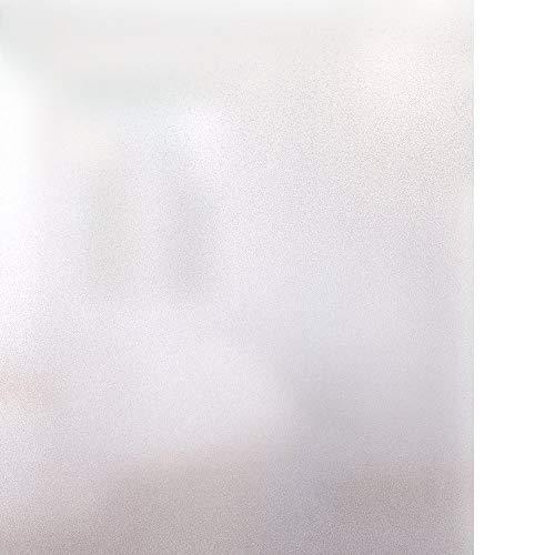 rabbitgoo Vinilo para Ventana Privacidad Lámina Adhesiva Pegatina Translúcida Adhesiva Decorativa del Vidrio Autoadhesiva con Electricida Estática Esmerilado Control de Calor y Anti UV 44.5 * 200CM