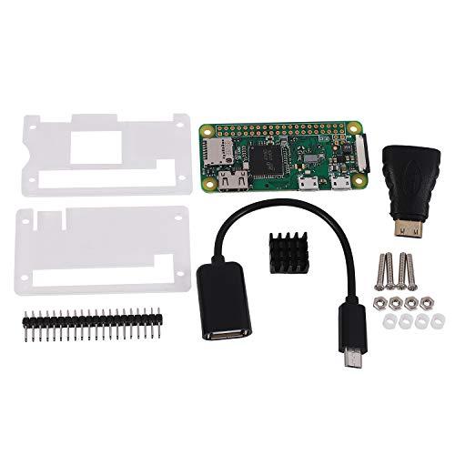 cherrypop Geeignet für Raspberry Pi Zero W Starter Kit + Acryl GehhUse + KüHler + 2 X 20 Poliger GPIO Header