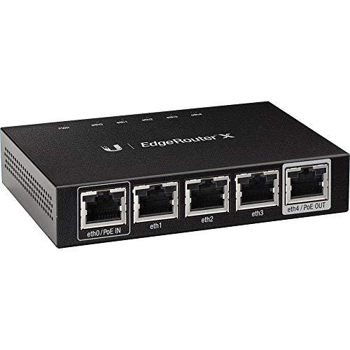 UBIQUITI Networks EdgeRouter X 5 Ports Gigabit LAN/WAN Rou