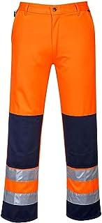 Portwest TX71 Calais Vis-Hola Pantalon, L, orange