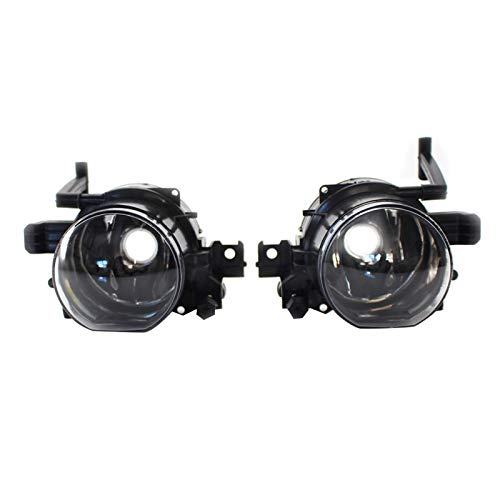 XJX Front Fog Driving Light Lamp Assembly No Bulb Fit for BMW E65 E66 730d 730i 735i 740i 745d 750i 760i 2005-2008 63176943415 (Color : A Pair)