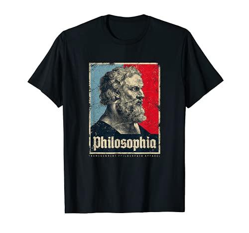Plato Philosophia Platos Filosofía Griega Antigua Vintage Camiseta