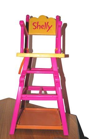 Shelly Puppen Hochstuhl