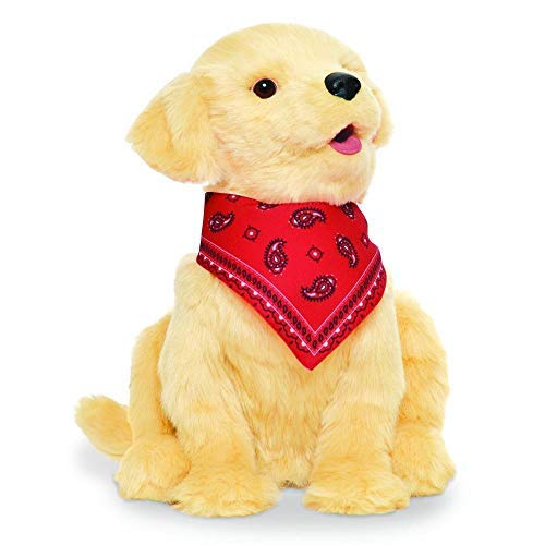 Joy For All B9108 Companion Pet Golden Pup, Gold, 9.016 inches Tall