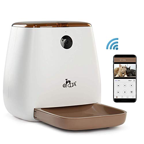 Orita 12 Meals SmartFeeder,Auto Pet Dog and Cat Feeder, 1080P HD WiFi...