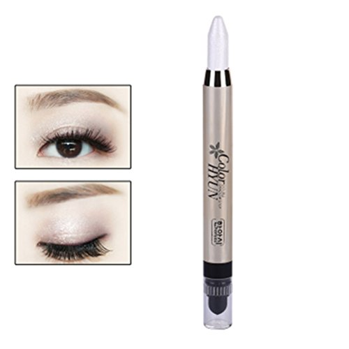 Frcolor Augenbraue Glitter Schatten Bleistift Eye Liner Bleistift Stift große Smokey Cream Eyeliner...