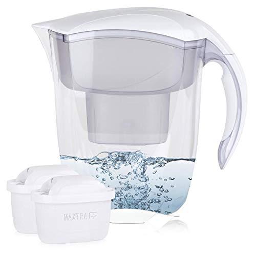 BRITA Elemaris XL 3,5L Wasserfilter weiß inkl. 2x Maxtra+ Kartuschen