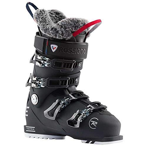 Rossignol Damen Pure Pro 80 Skischuhe, Weiches Schwarz, 25.0 Mondopoint