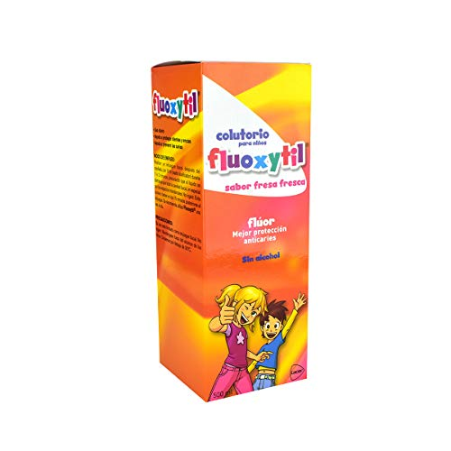 Enjuague Bucal Niños  marca Fluoxityl