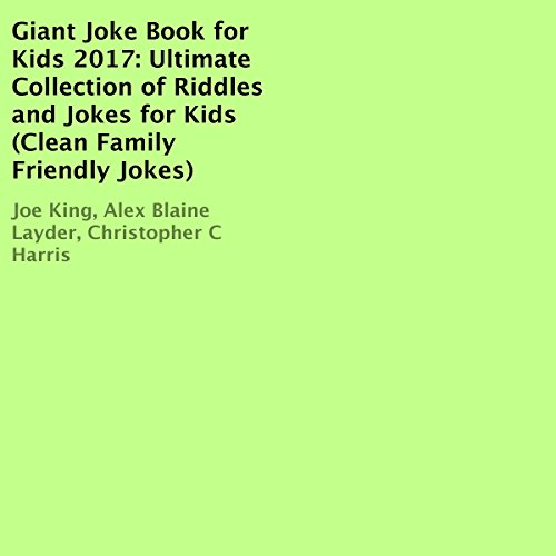 Giant Joke Book for Kids 2017 audiobook cover art