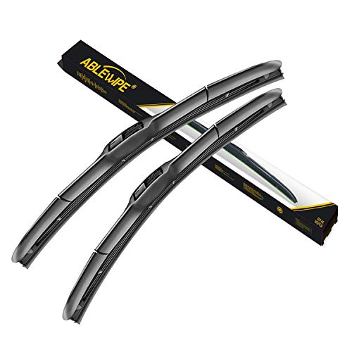 ABLEWIPE Windshield Hybird Wiper 24' + 18' Front Window Wiper Blades Model 18O13B(Set of 2)