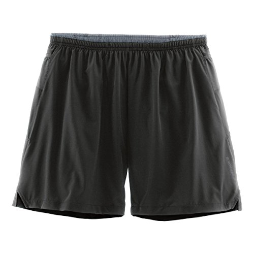 Brooks Sherpa 7 2 en 1 Short (L) (Black)