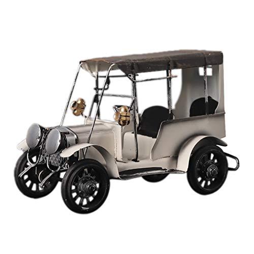 Wr Modelo de Coche de Metal Antiguo Vintage, Colecciones de Manualidades, Juguetes de vehículos coleccionables, decoración Vintage para Barra o Estante del hogar