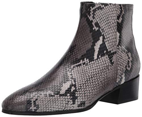 Aquatalia womens Bootie Ankle Boot, Anthracite, 9.5 US