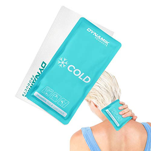 Bolsa para aplicar frío y calor - Medio - 26.5 x 13.5 cm de Dynamik Products