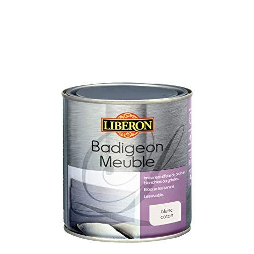 LIBERON Badigeon meuble, Blanc coton mat, 0,5L