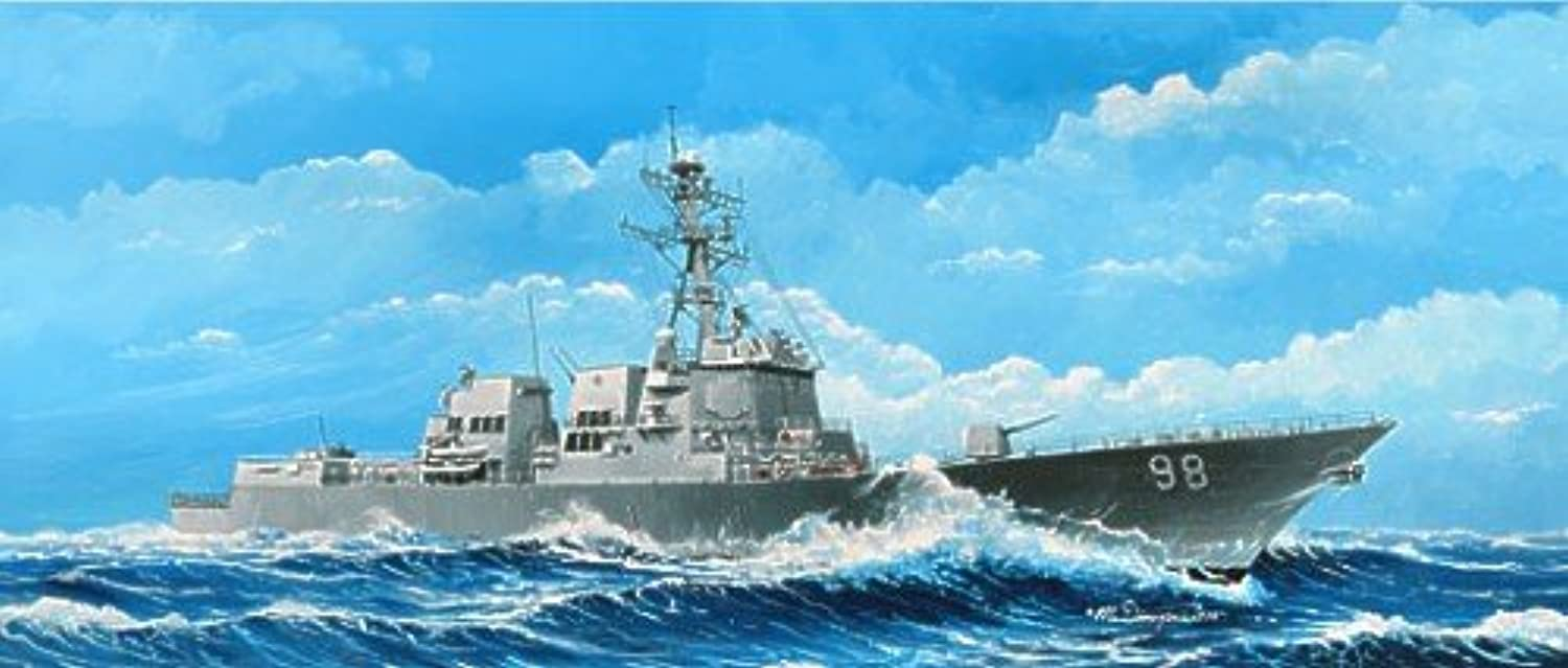 Trumpeter 1 350 Scale USS Forrest Sherman DDG98 Arleigh Burke Class Guided Missile Destroyer