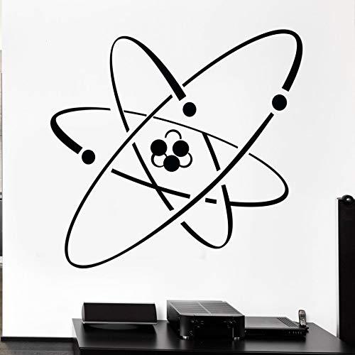 59x56cm, Adesivi, Citazioni su adesivi da parete, Atom Electron Science Chemistry Nuclear Physi Room, Tattoo, Stickers, Window, Glass Shop Sticker Artwork Activity House Gift Inspirational Quotes Gift