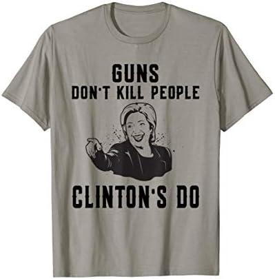 Funny Hillary Clinton Guns Dont Kill People Clintons Do product image