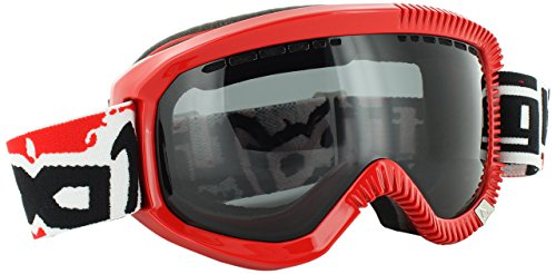 Gloryfy Skibrille GP2 Rookie Shiny, Red/White