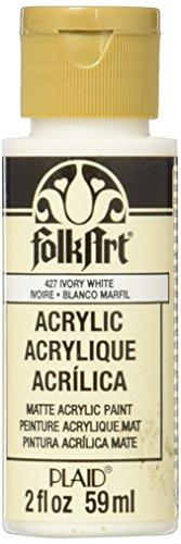 FolkArt Peinture acrylique en couleurs assorties Blanc ivoire 427