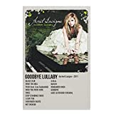 Goodbye Lullaby by Avril Lavigne 2011 Canvas Poster...