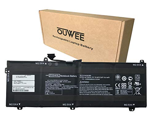 OUWEE ZO04XL Laptop Battery Compatible with HP ZBook Studio G3 G4 Mobile Workstation Series Notebook ZO04 808396-421 808450-001 HSTNN-CS8C HSTNN-C88C HSTNN-LB6W 15.2V 64Wh 4210mAh
