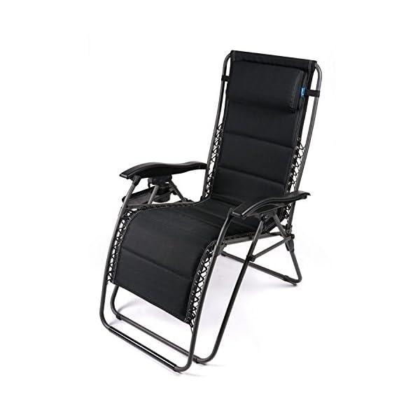 Kampa Opulence Padded Zero Gravity Chair