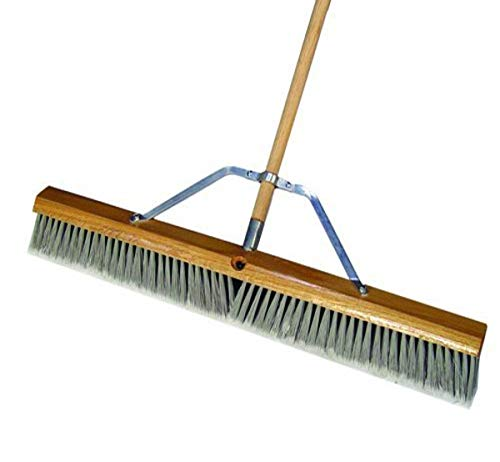 Bon Tool 84-518 36-Inch Silver Tip Flagged Broom with Handle