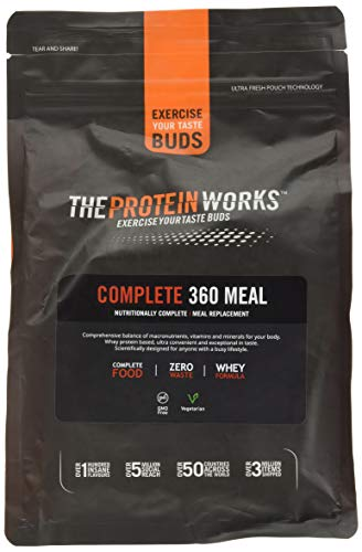 The Protein Works Complete 360 Meal Nutritionally Balanced Quick & Affordable Vanilla Crème, 1 kg