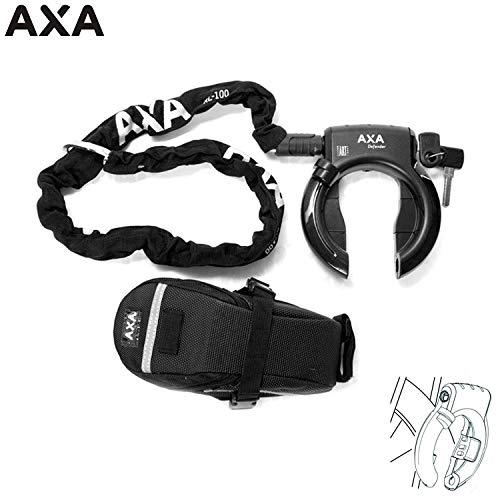 Axa verdediger frame slot met ketting Rlc 100 Ø 5,5 mm + zak