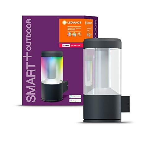 LEDVANCE Smart+ / Endura Lanterne LED Connecté | Applique Extérieure | 680 Lumens | 16 Millions de couleurs | Etanche | Compatible avec Amazon Echo Plus, Echo Show et passerelle Philips HUE