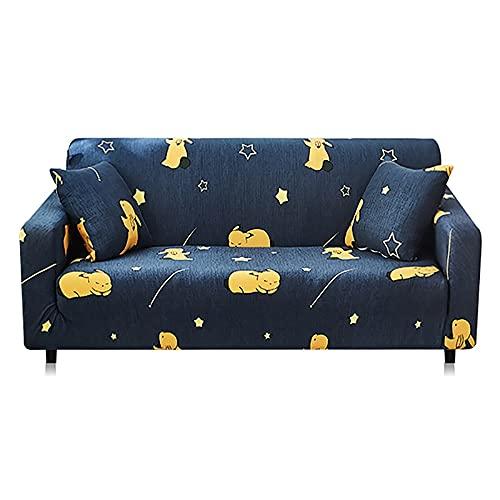 Fundas de sofá elásticas Antideslizantes Fundas de poliéster Spandex Cuatro Estaciones Todo Incluido Sofá de sofá elástico Toalla A10 2 plazas