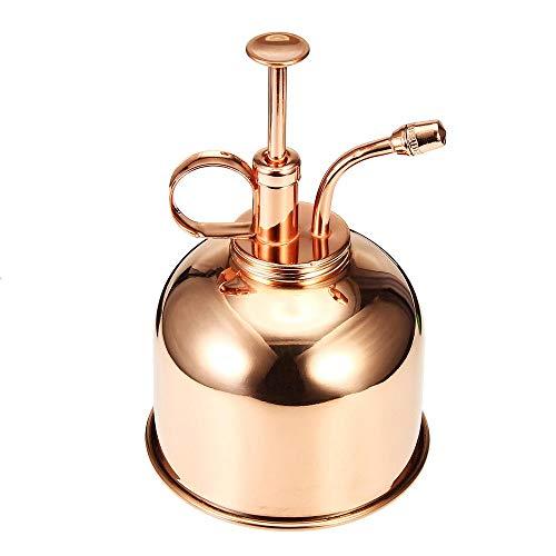 Jianghuayunchuanri Flacons pulvérisateurs à Brume Fine 300ml Mini Maison Usine d'eau Vaporisateur Pot Pulvérisateur pour Le Maquillage cosmétique (Couleur : Red Copper, Size : 300ml)