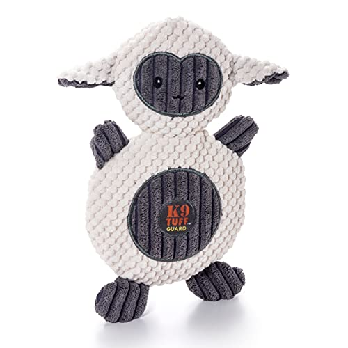 Charming Pet Animates Lamb Plush Squeaky Dog Toy