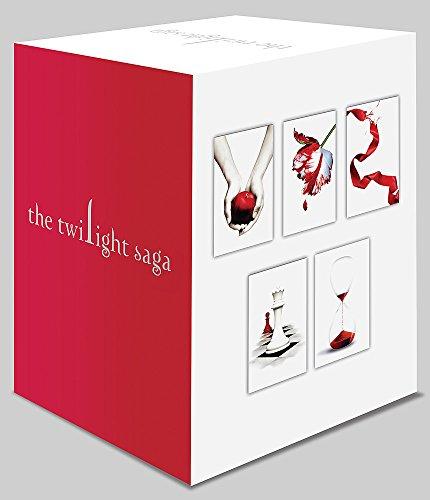 Imagem representativa de Twilight Saga 5 Book Set (White Cover): Stephenie Meyer