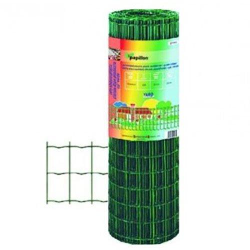 Rete recinzione elettrosaldata plastificata release h 80 cm rotolo da 25 mt.