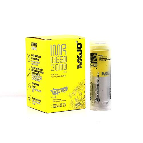 Accu MXJO 18650 3000 Mah 35A (4 accus) - 60g