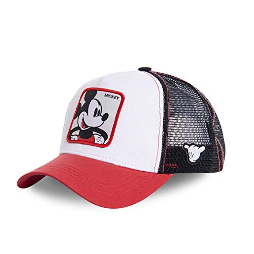 Capslab Mickey Mouse Trucker Cap Disney Collab White/Red/Black - One-Size