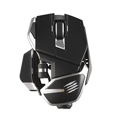 Mad Catz The R.A.T. DWS Bluetooth Wireless Gaming Mouse Dual Mode: Bluetooth 5.0 and 2.4G Wireless -16000 DPI PAW3335DB Optical Sensor