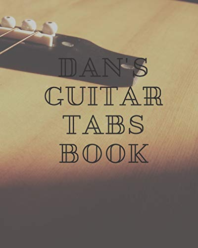 Dan\'s Guitar Tabs book