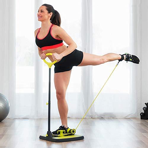 Innova-Goods Buttocks & Legs! Pedana Fitness per Gambe, Fondoschiena, Glutei e Braccia! Oltre 14 allenamenti Differenti per tonificare e rassodare! Salvaspazio richiudibile 0829