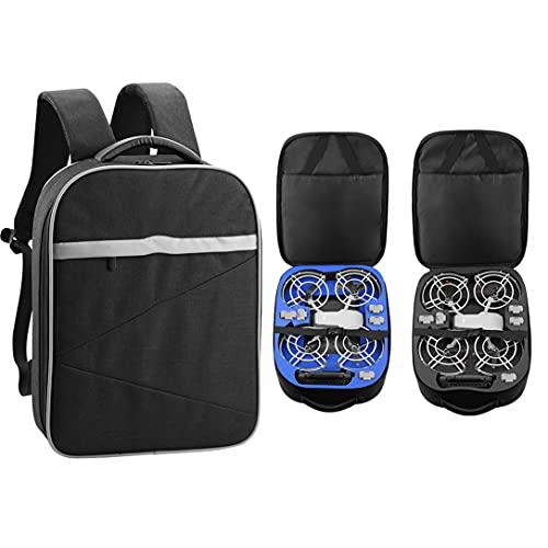 NC Zaino Compatibile per DJI Mavic Mini/Mini SE, Borsa portaoggetti con Anello Protettivo per Accessori per droni, 38,4 x 29 x11 cm, Solo Borsa (Fodera Nera)