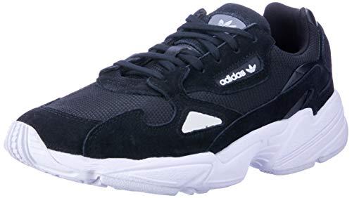 Adidas Falcon W, Zapatillas de Gimnasia para Mujer, Multicolor (Black Cblack/Cblack/Ftwwht), 38 EU