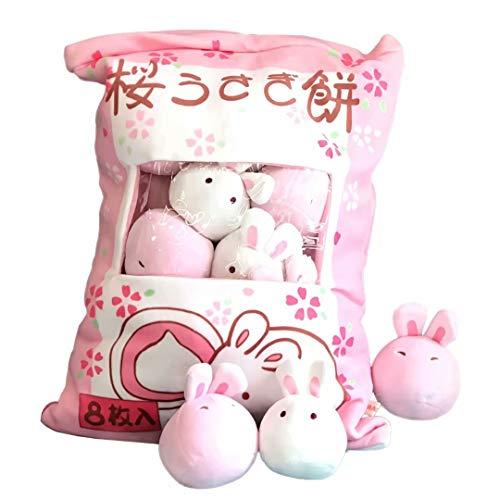 Cuscino di tiro kawaii Cuscino di peluche ripieno di peluche Cuscino rimovibile Simpatico animale Bambole Morbido cuscino di peluche Giocattolo Regali di novità per adolescenti Ragazze Bambini